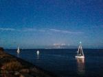Défilé des bateaux le 13 juillet au soir