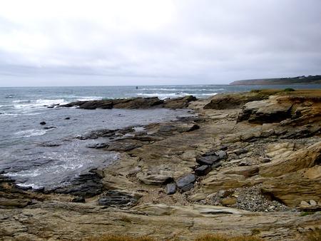 Groix, côte ouest